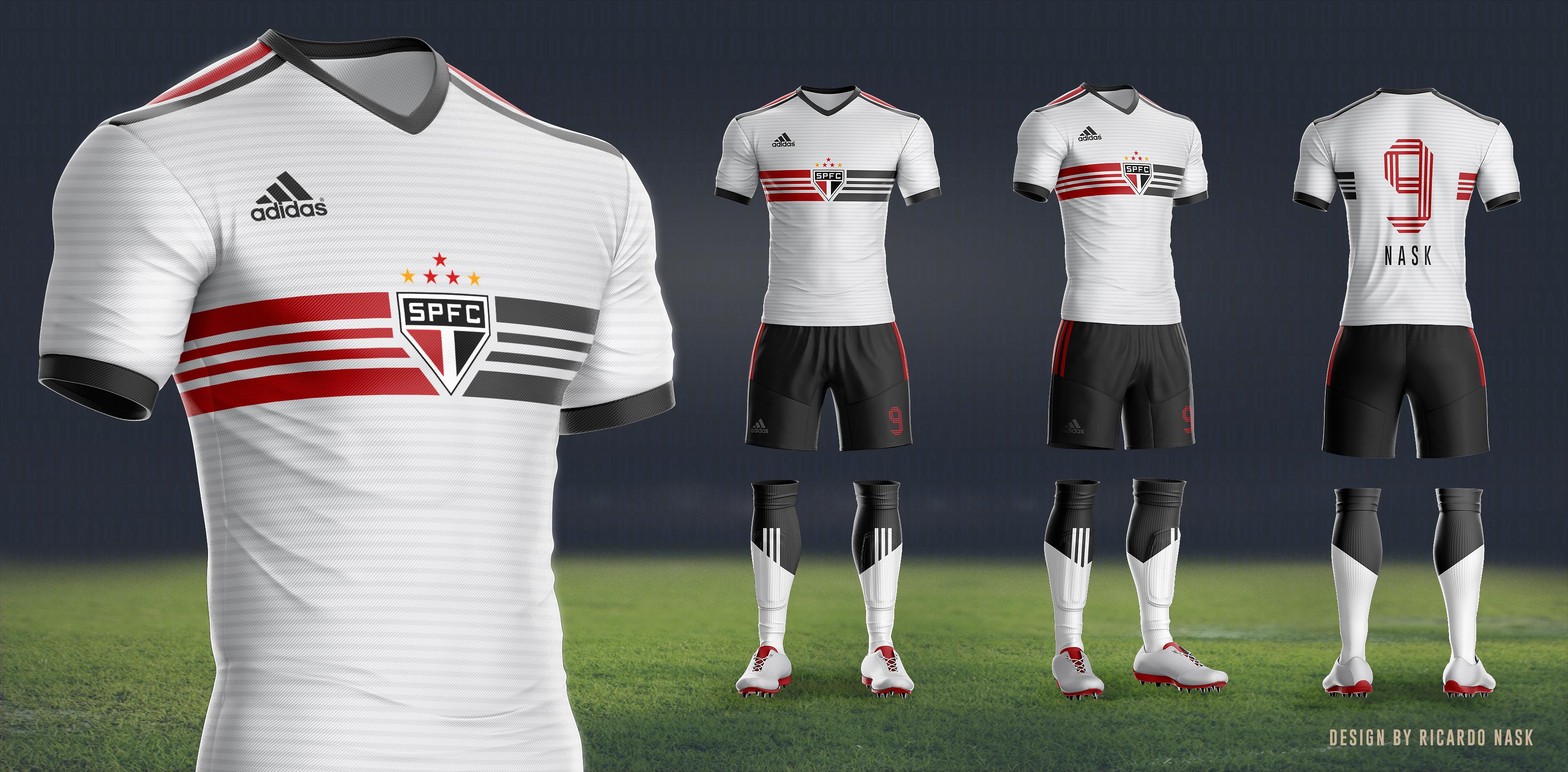 Design de uniformes novos  Adidas e São Paulo – SãoPaulo.Blog 5ec7b873b0f7a