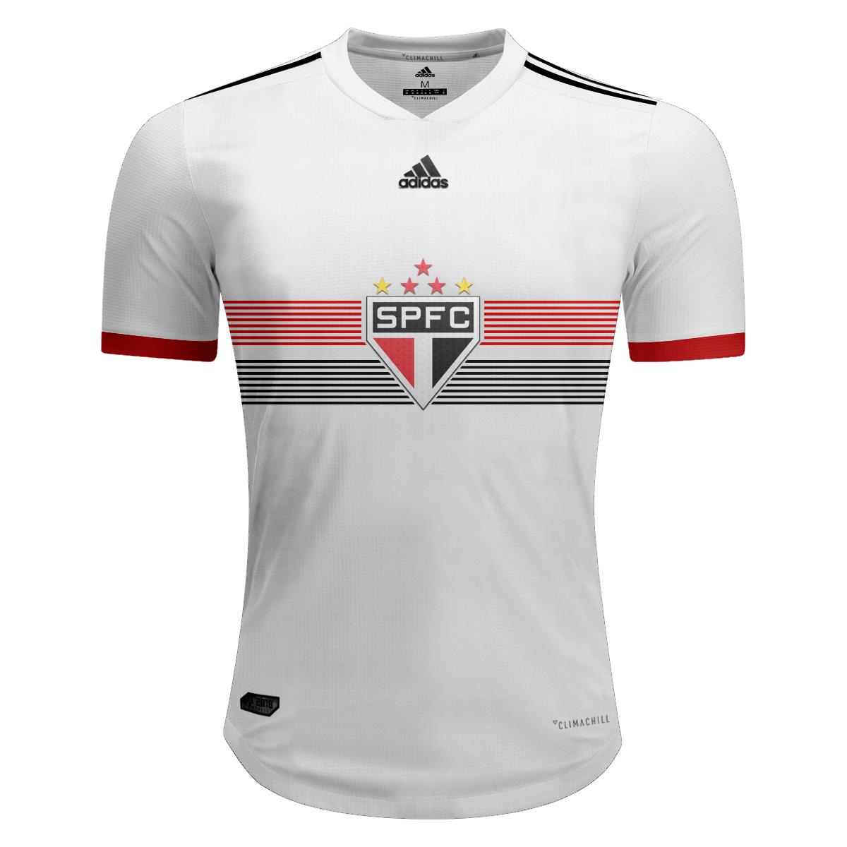 b9897dfc1e082 Novos Uniformes  São Paulo e Adidas – Modelos 1
